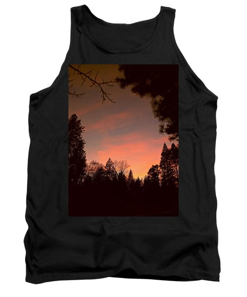 Sunset In Winter Tank Top by Michele Myers