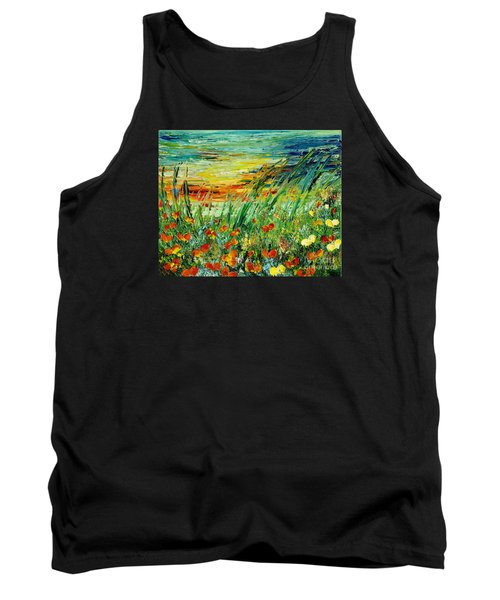 Sunset Meadow Series Tank Top