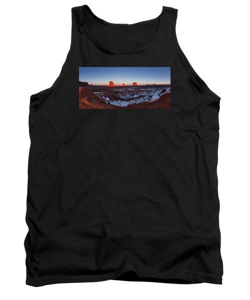 Sunset Moonrise Tank Top