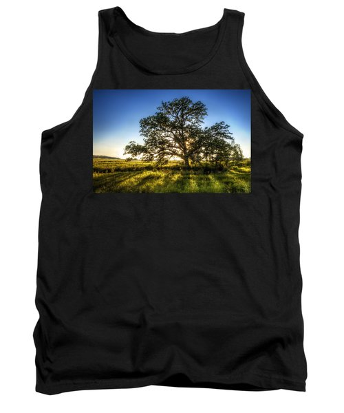 Sunset Oak Tank Top