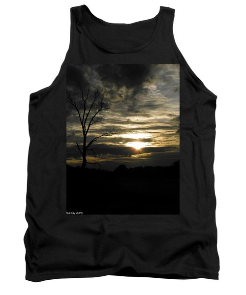 Sunset Of Life Tank Top by Nick Kirby