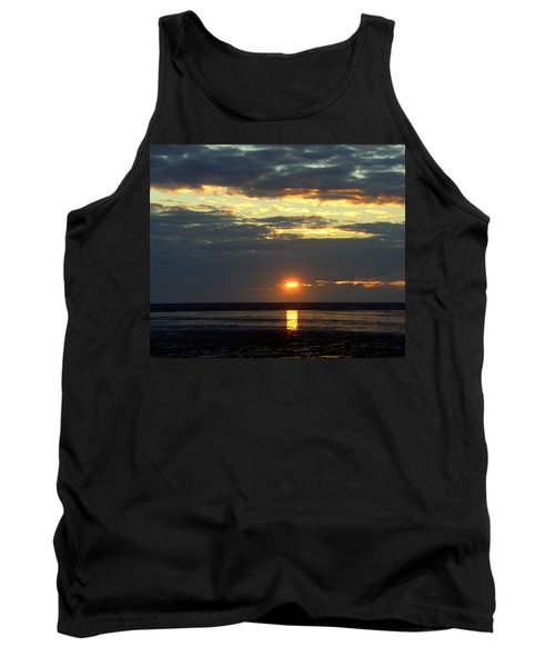 Sunset On A Cloudy Evening Tank Top