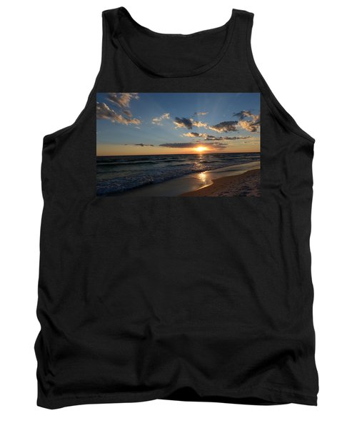 Sunset On Alys Beach Tank Top by Julia Wilcox