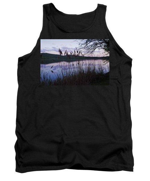 Sunset On Rockland Lake - New York Tank Top by Jerry Cowart