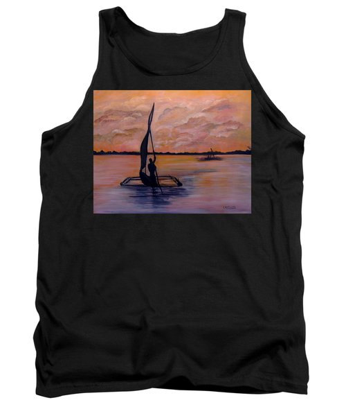 Sunset On The Nile Tank Top