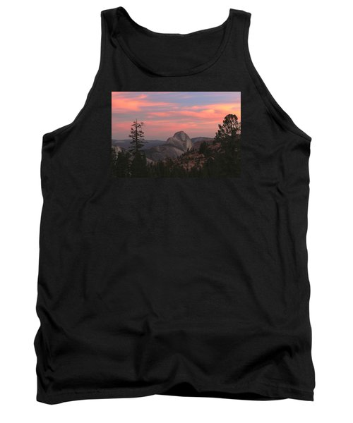 Sunset Over Half Dome Tank Top
