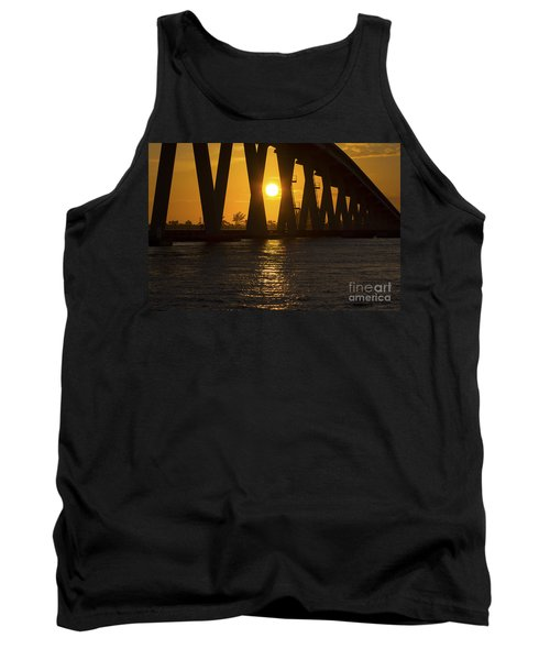 Sunset Over Sanibel Island Photo Tank Top