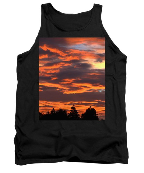 Sunset Tank Top by Pamela Walton