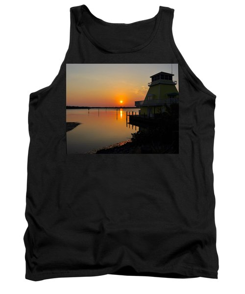 Sunset Reflections Tank Top by Jim Brage