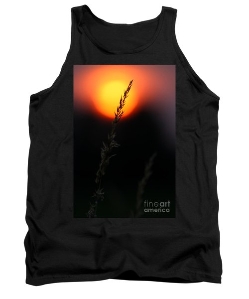 Sunset Seed Silhouette Tank Top
