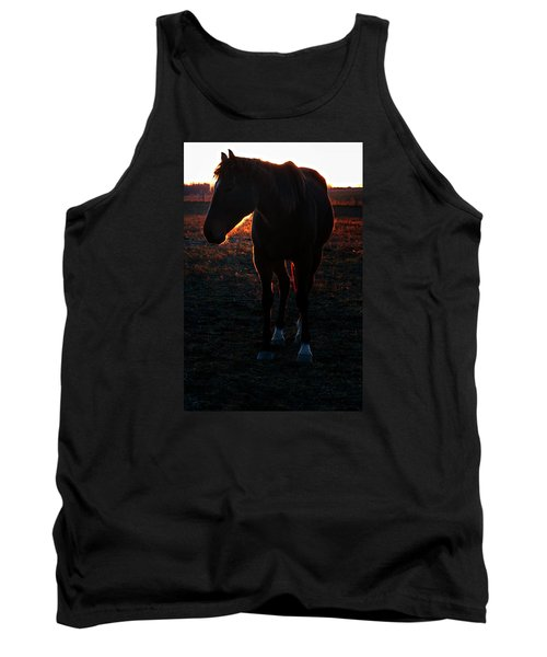 Tank Top featuring the photograph Sunset Splendor by Robert McCubbin