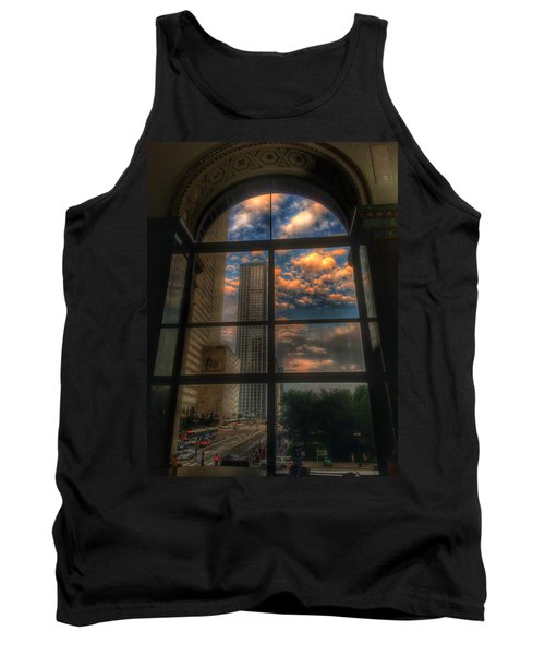 Sunset View Of Chicago Tank Top
