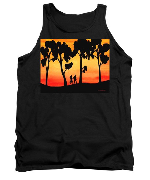 Sunset Walk Tank Top