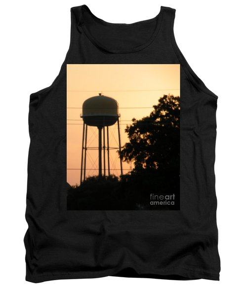 Sunset Water Tower Tank Top