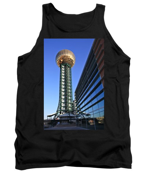 Sunsphere And Conference Center Tank Top by Melinda Fawver