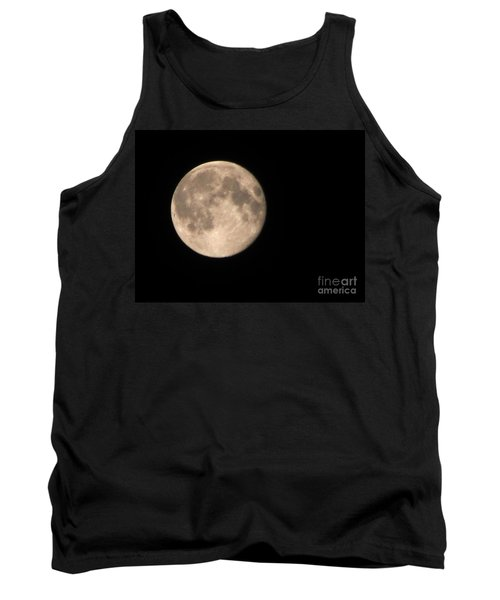 Tank Top featuring the photograph Super Moon by David Millenheft