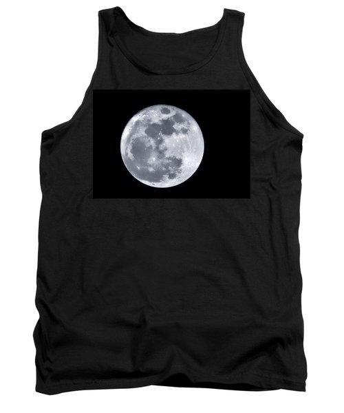 Super Moon Over Arizona  Tank Top by Saija  Lehtonen