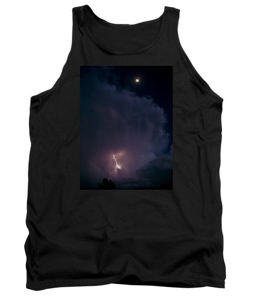 Supercell Moon Tank Top by Ed Sweeney