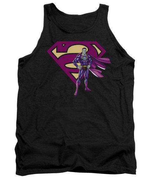 Superman - Bizarro And Logo Tank Top