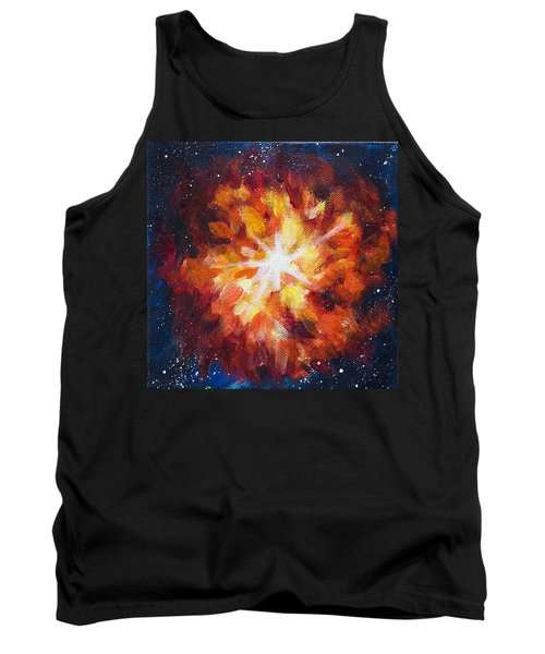 Supernova Explosion Tank Top