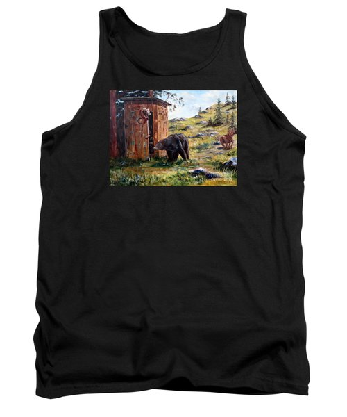 Surprise Visit Tank Top by Lee Piper
