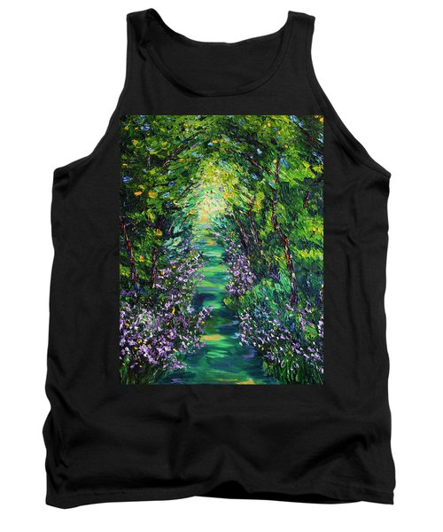 Tank Top featuring the painting Surrender by Meaghan Troup