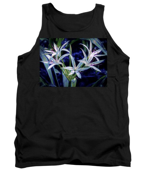 Tank Top featuring the photograph Swamp Lilies by Steven Sparks
