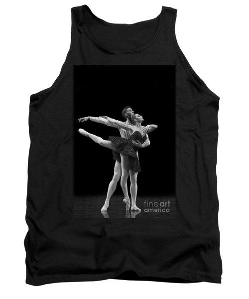 Swan Lake  Black Adagio  Russia  Tank Top