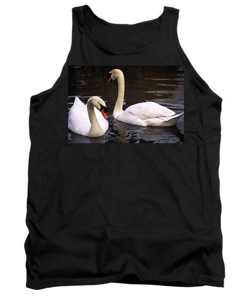 Swan Two Tank Top