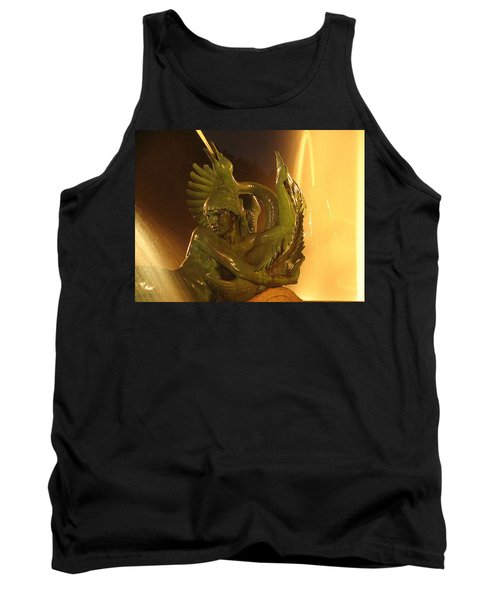 Tank Top featuring the photograph Swann Fountain by Christopher Woods