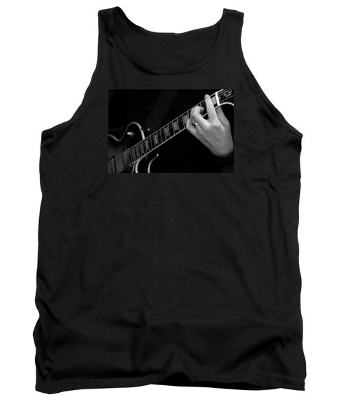 Tank Top featuring the photograph Sweet Sounds In Black And White by John Stuart Webbstock