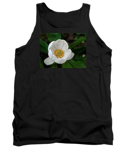 Sweetbay Magnolia Tank Top by William Tanneberger
