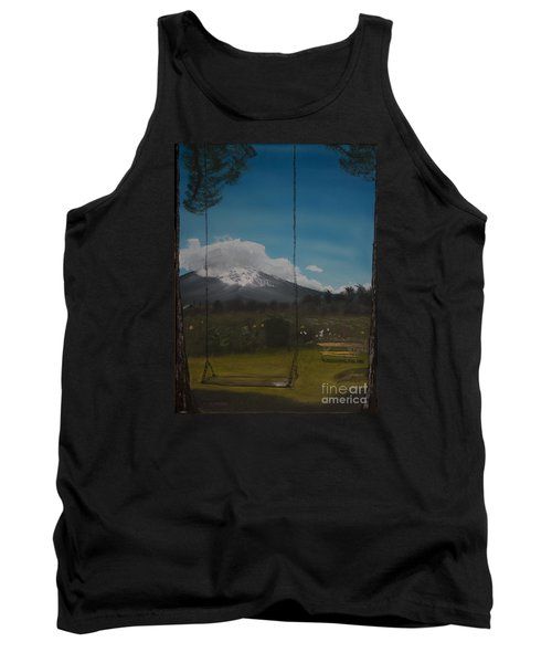 Swing On Mt Hoods Fruit Loop Tank Top