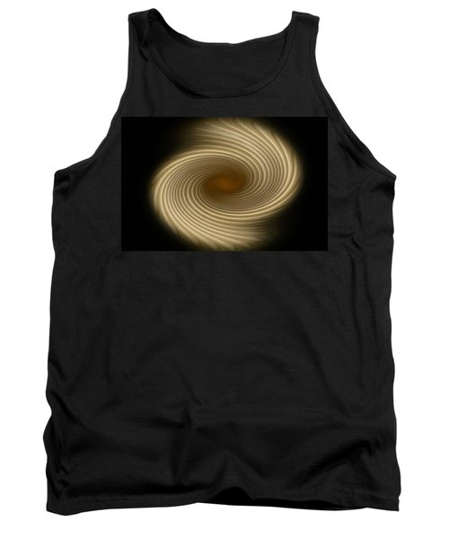 Tank Top featuring the photograph Swirling Abstract Design by Charles Beeler