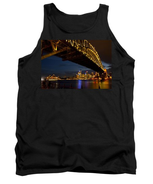 Tank Top featuring the photograph Sydney Harbour Bridge by Miroslava Jurcik