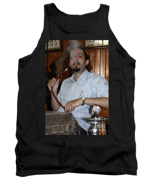 Syrian Man And Waterpipe Tank Top