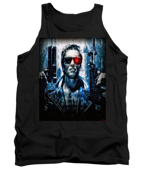 T800 Terminator Tank Top by Joe Misrasi
