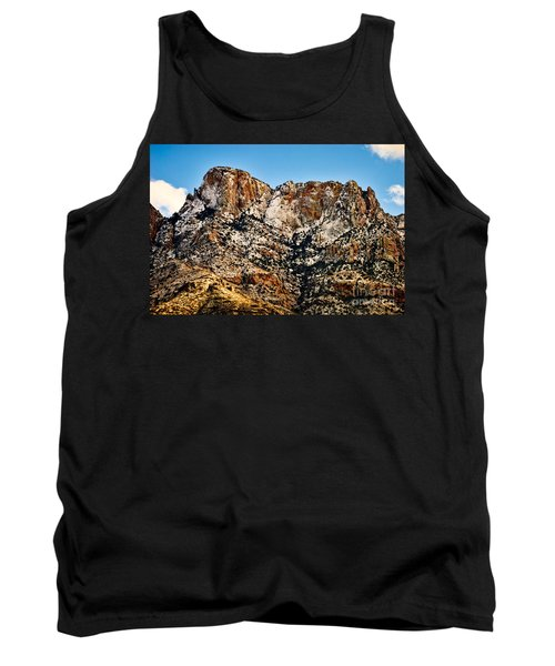 Tank Top featuring the photograph Table Mountain In Winter 42 by Mark Myhaver