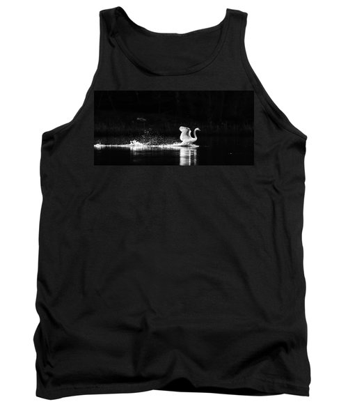 Tank Top featuring the photograph Take Off by Rose-Maries Pictures