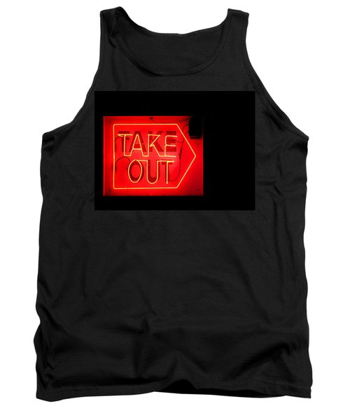 Tank Top featuring the photograph Take Out by Greg Simmons