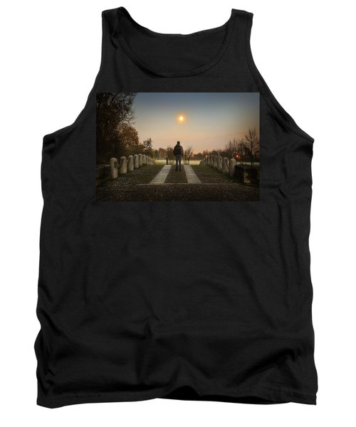 Talking To The Moon Tank Top