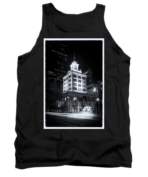 Tampa's Old City Hall Tank Top by Marvin Spates