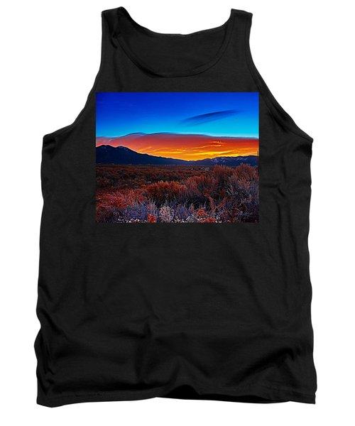 Taos Sunrise X Tank Top