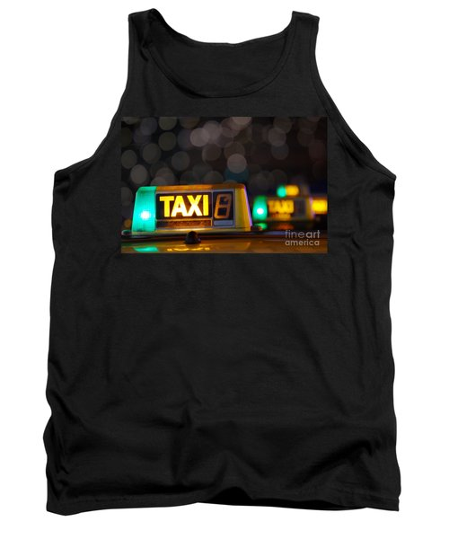 Taxi Signs Tank Top