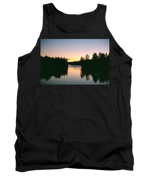 Tea Lake Sunset Tank Top