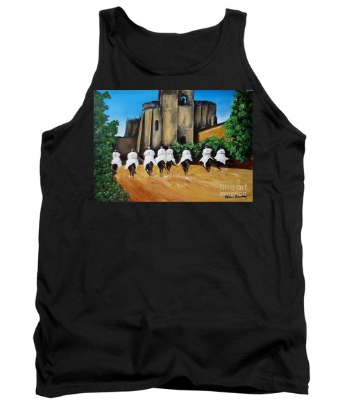 Templar Knights And The Convent Of Christ Tank Top