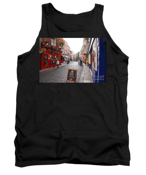 Temple Bar Tank Top by Mary Carol Story