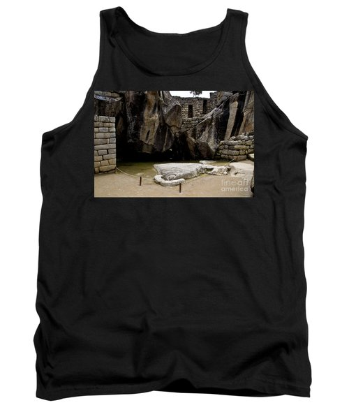 Temple Of The Condor Tank Top by Kathy McClure