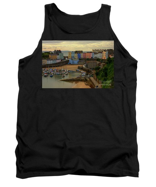 Tenby Harbour In The Morning Tank Top