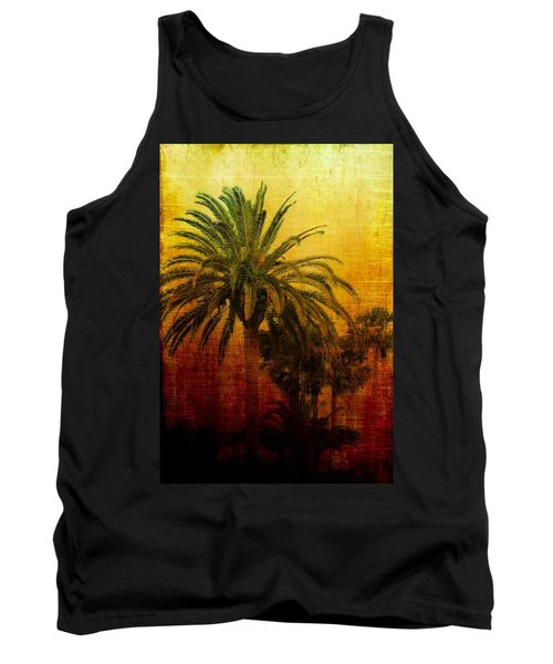 Tequila Sunrise Tank Top by Jan Amiss Photography